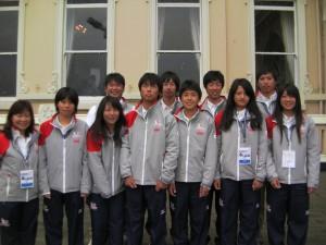 TEAM YOUTH JAPANの面々