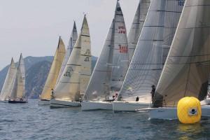 52艇がスタートした第53回パールレース