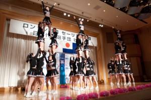 日本大学応援リーダー部「ディッパーズ」の応援エール