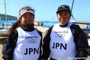 470級女子 近藤 愛・田畑和歌子組(photo by Kazushige Nakajima/LAYLINE MEDIA)