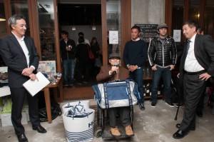 キールボートシリーズ・相模湾2012の優勝艇「写楽」チーム